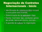 negocia o de contratos internacionais in cio