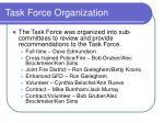 task force organization