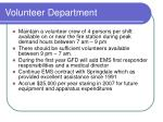 volunteer department1