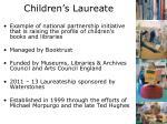 children s laureate