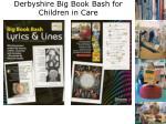 derbyshire big book bash for children in care3