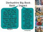 derbyshire big book bash impact