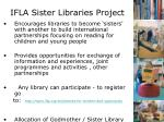 ifla sister libraries project