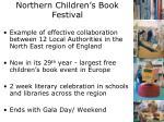 northern children s book festival