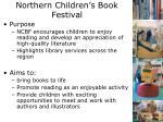 northern children s book festival1