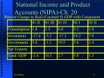 national income and product accounts nipa ch 20