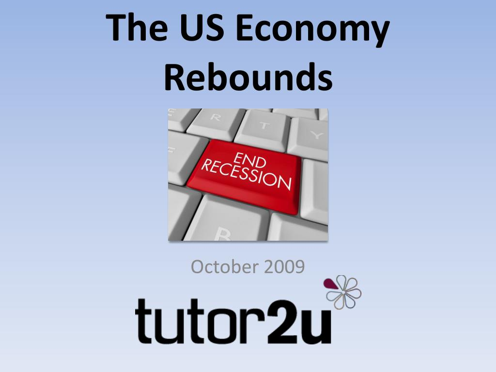 the us economy rebounds l.