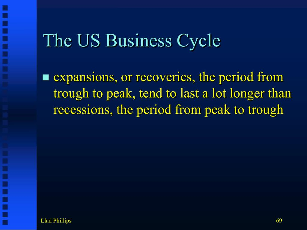 The US Business Cycle