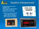 system components1