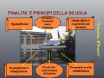 finalita e principi della scuola