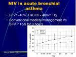 niv in acute bronchial asthma