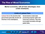 the rise of mixed economies