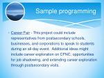 sample programming5
