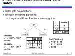 binary attributes computing gini index