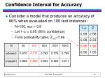 confidence interval for accuracy2