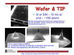 wafer tip