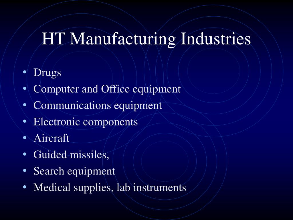 HT Manufacturing Industries