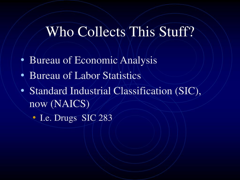Who Collects This Stuff?