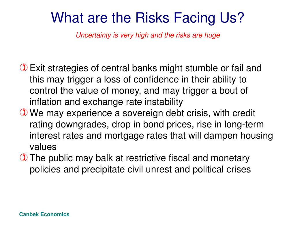 What are the Risks Facing Us?