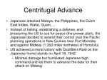 centrifugal advance