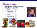 glycemic index2