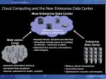 cloud computing and the new enterprise data center