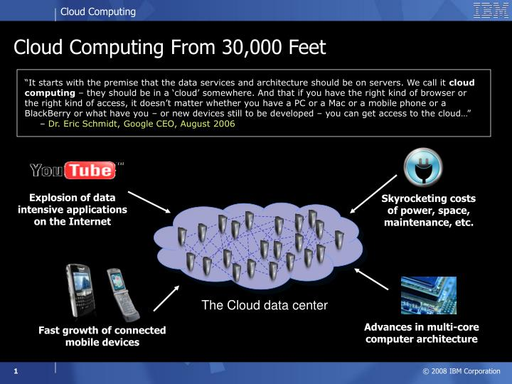 cloud computing from 30 000 feet n.