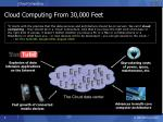 cloud computing from 30 000 feet