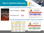 step 2 qualitative measures4