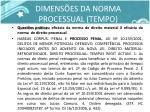 dimens es da norma processual tempo5