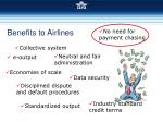 benefits to airlines