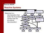 motorola weavr reactive systems1