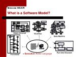 motorola weavr what is a software model4