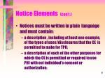 notice elements con t1