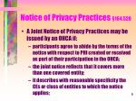 notice of privacy practices 164 520