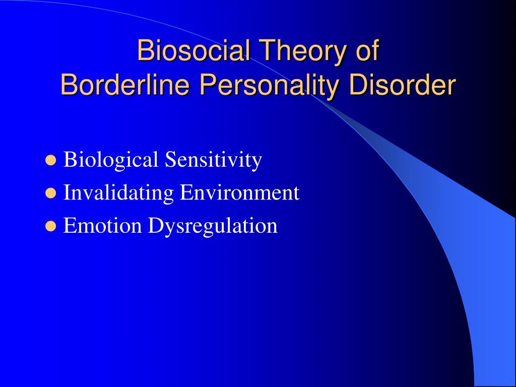 Biosocial Theory of