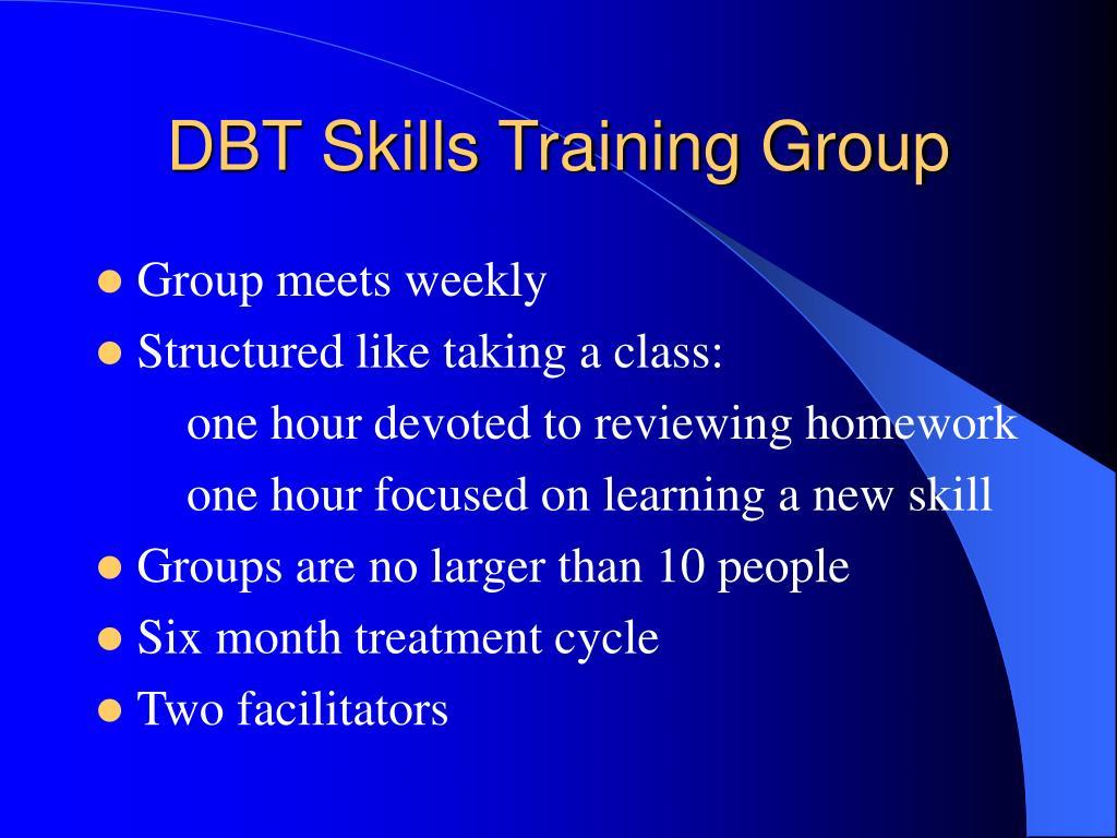 DBT Skills Training Group