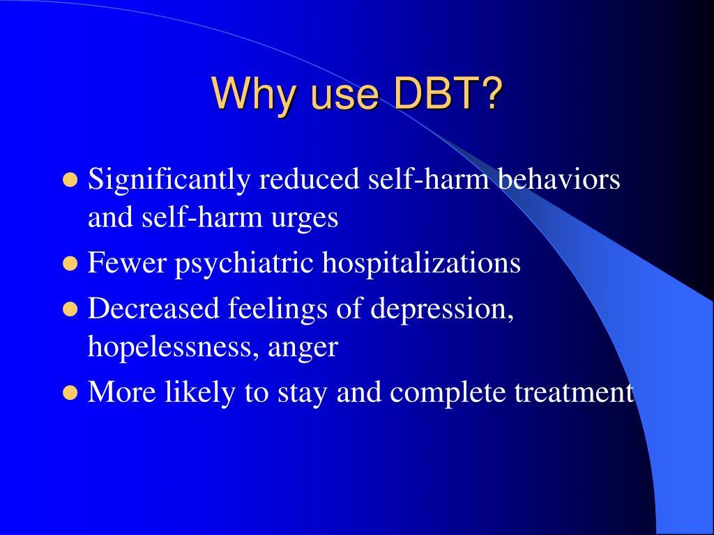 Why use DBT?
