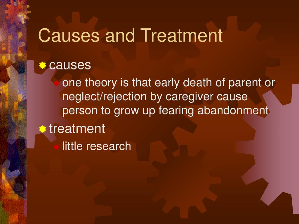 Causes and Treatment