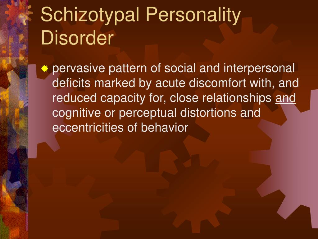 environmental causes of schizotypal personality disorder