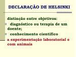 declara o de helsinki