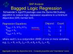 snp analysis bagged logic regression2