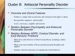 cluster b antisocial personality disorder