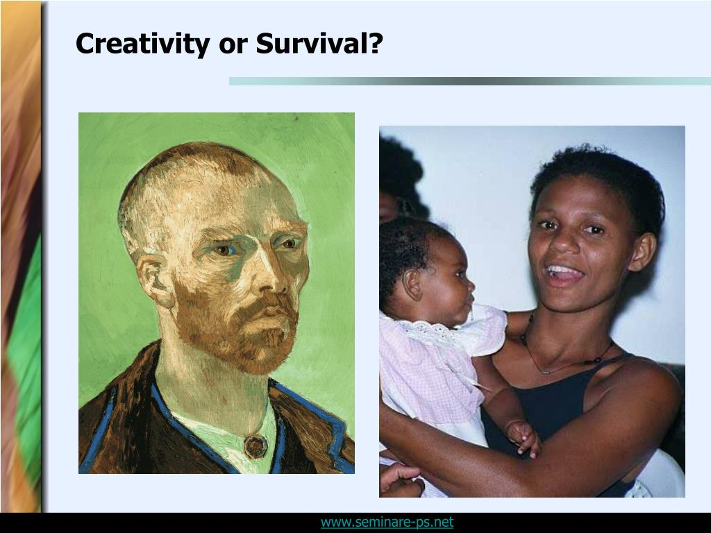 Creativity or Survival?