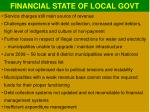 financial state of local govt2