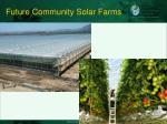 future community solar farms
