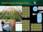 neighborhood portable farm