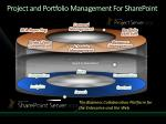 project and portfolio management for sharepoint