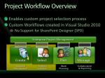 project workflow overview