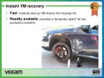 instant vm recovery